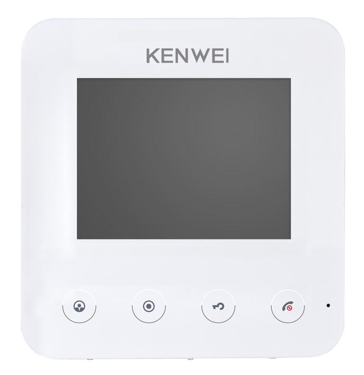 Видеодомофон Kenwei KW-E401FC белый