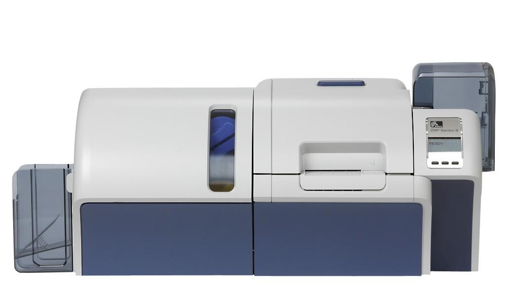 Принтер пластиковых карт Zebra ZXP8 Z82 с ламинатором и кодером MIFARE
