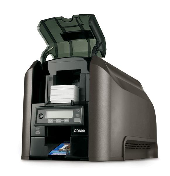 Принтер пластиковых карт Datacard CD800 двусторонний