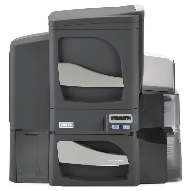 Принтер пластиковых карт Fargo DTC4500e с односторонним ламинатором и Ethernet