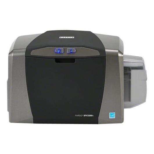 Принтер пластиковых карт Fargo DTC1250e с цифровой USB фотокамерой
