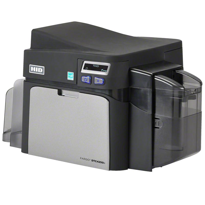 Принтер пластиковых карт Fargo DTC4250e с ПО AsureID 7 Express