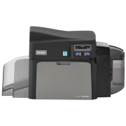 Принтер пластиковых карт Fargo DTC4250e с лотком на 100 карт