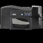Принтер пластиковых карт Fargo DTC4500e односторонний с лотком на замке