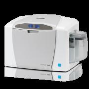 Принтер пластиковых карт Fargo C50 c полноцветной лентой YMCKO