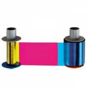 Полноцветная лента Fargo YMCKK 500 отпечатков
