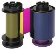 Полноцветная лента Evolis YMCKH 400 отпечатков. Для Evolis Avansia