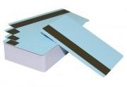 Пластиковая карта с магнитной полосой CIMage 12477 голубая