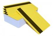 Пластиковая карта с магнитной полосой CIMage 12421 желтая